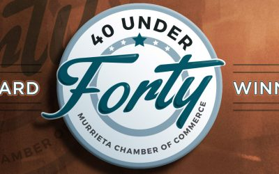 Murrieta's 40 Under Forty Announced. Guess Who Made the List?